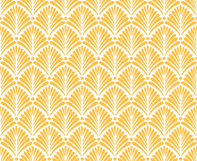 Art Deco Inspired Pattern With...