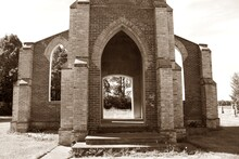 Ruins Of Catholic Church Built...