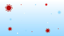 Coronavirus In The Air. Infect...