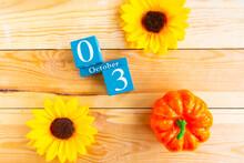 October 3, Number Cube Design In Rural Concept.