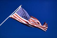 American Flag On The Flagpole ...