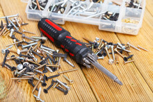 Fasteners And Screwdriver