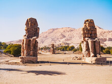 Ruined Androsphinx Statues Nea...