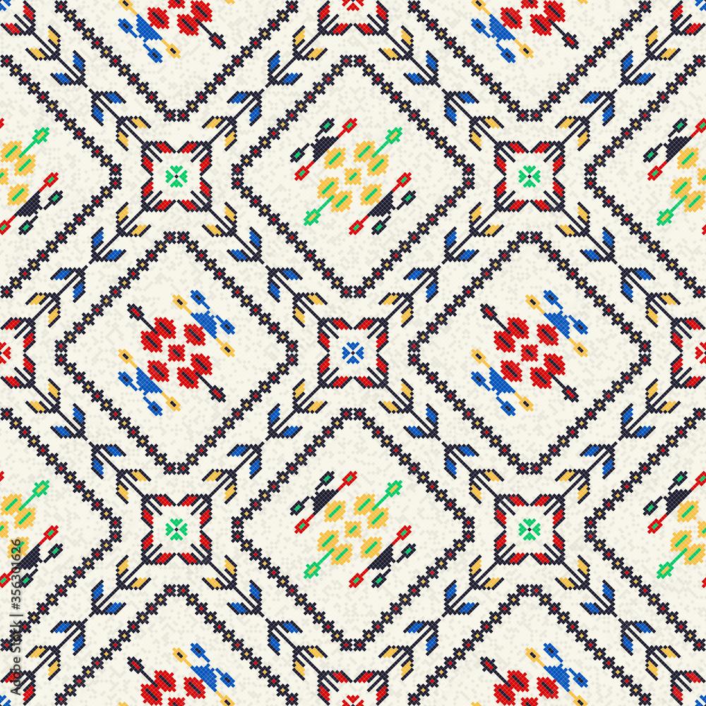 Romanian traditional pattern 61
