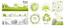 Ecology Concept. Environmentally Friendly World.