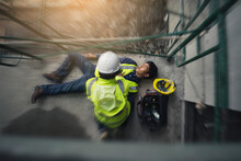 Construction Worker Accident, ...