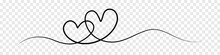 Line Art Heart Transparent Ban...