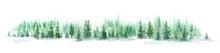 Watercolor Forest Landscape Pa...