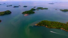 Aerial View Of Boca Chica Isla...