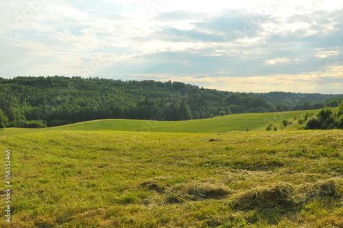 Fototapeta Polska - krajobraz mazurski obraz