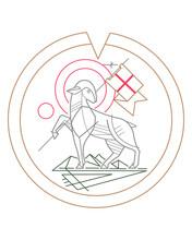 Lamb Of God Symbol Illustration
