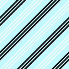 Sky Blue Stripe Seamless Pattern Background In Diagonal Style - Sky Blue Diagonal Striped Seamless Pattern Background Suitable For Fashion Textiles, Graphics