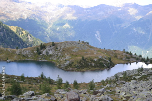 Fototapety, obrazy: lake in mountains
