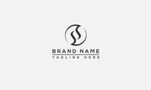 SS Initial Logo Template Vector