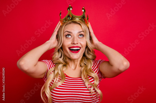 Fotografie, Tablou I am prom queen wow omg unbelievable