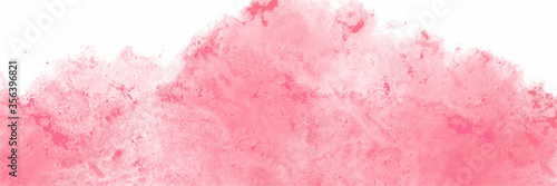 Fotografiet Pink watercolor background for textures backgrounds and web banners design