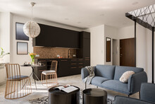 Small And Stylish Designed Apartment