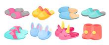 Slippers Vector Illustration S...