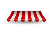 Shop Awning. Shopping Striped ...