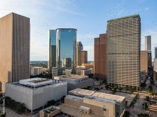 Fototapety, obrazy: Aerial View Of Houston Texas