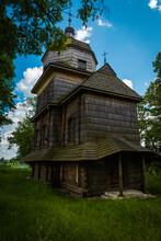 The Oldest Greek Catholic Church In The Lublin Region In Korczminie.