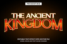 Editable Text Effect - Ancient...