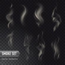 Set Of High Detailed Smokes Fr...