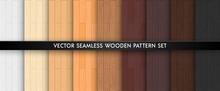 Wood Textured Seamless Pattern...