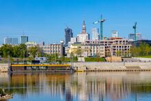 Panoramic View Of Srodmiescie ...