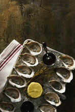 Platter Of One Dozen Oysters O...