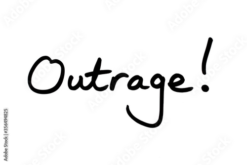 Outrage! Wallpaper Mural
