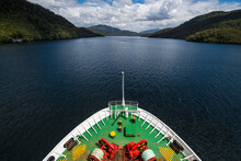 Passenger Vessel Navigating Th...