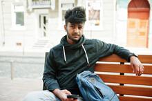 Portrait Of Young Stylish Indi...