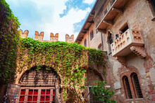 Juliets House In Verona, Italy