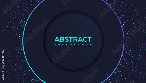 modern gradient bright color. geometric background. Abstract website landing page with circles illustration. Banner, wallpaper vector design template.