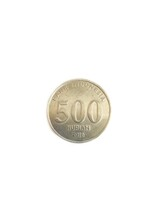 500 Indonesian Rupiah Coin On ...
