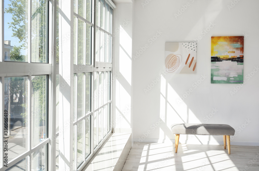 Fototapeta Interior of modern art gallery