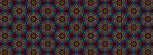 An Abstract Psychedelic Kaleidoscope Pattern Background Image.