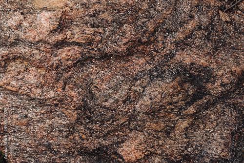 Rock texture detail landscape Tablou Canvas