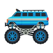 Monster Truck Vehicle, Heavy B...