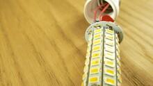 The Disassembled LED Corn Lamp...
