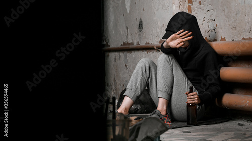 Photo The concept of drug dependence and withdrawal symptoms