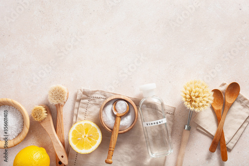 Foto zero waste eco friendly cleaning concept