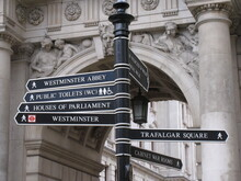 London ,UK, Famous Street Sign