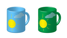 Bright Fun Mug For Morning Cof...