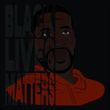 Black Lives Matters Vector Illustration