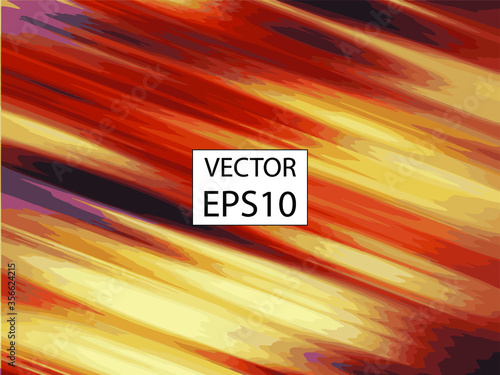 Fotomural Abstract oil art painting