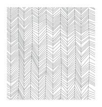 Wabi Sabi Wallpaper Herringbone Patterns Vector. Abstract Minimalist Art Black On White Background. Japanese Aesthetic