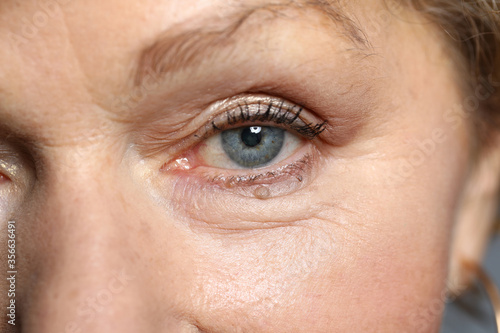 Close-up of attractive womans eye Fototapet