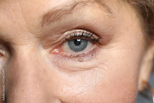 Close-up of attractive womans eye Tapéta, Fotótapéta